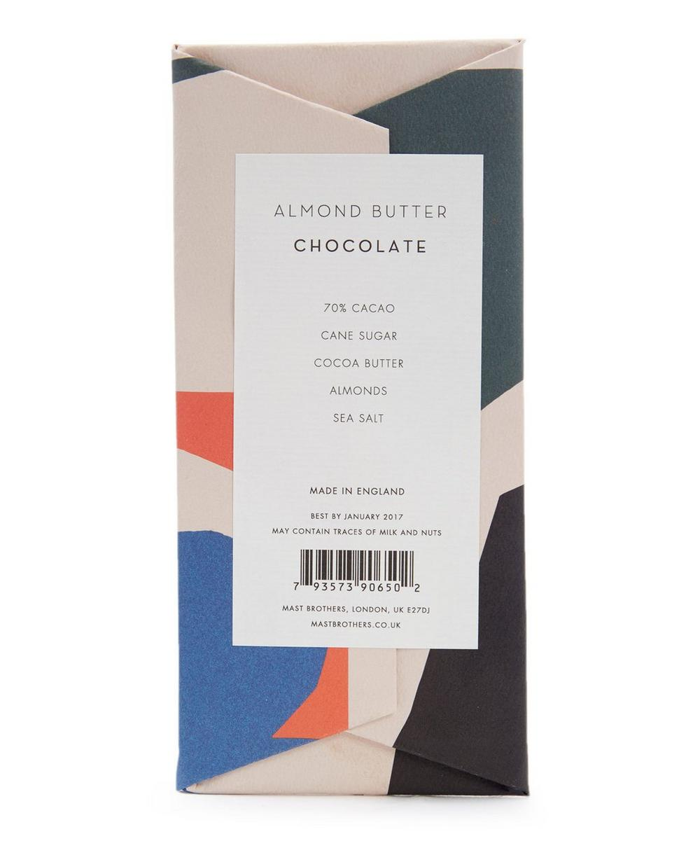 Almond Butter Chocolate Bar 70g