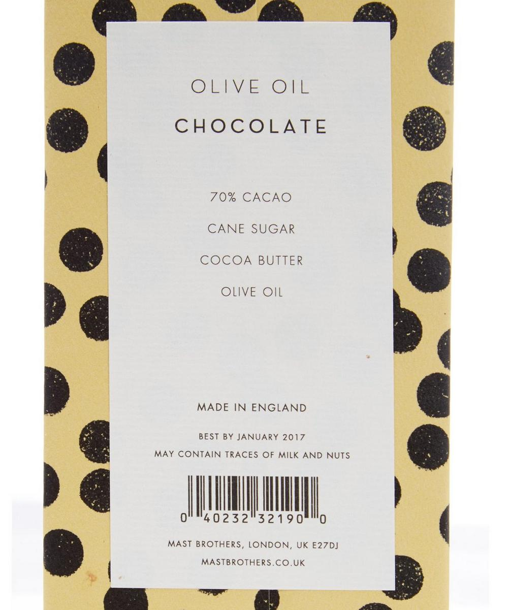 Olive Oil Chocolate Bar 70g