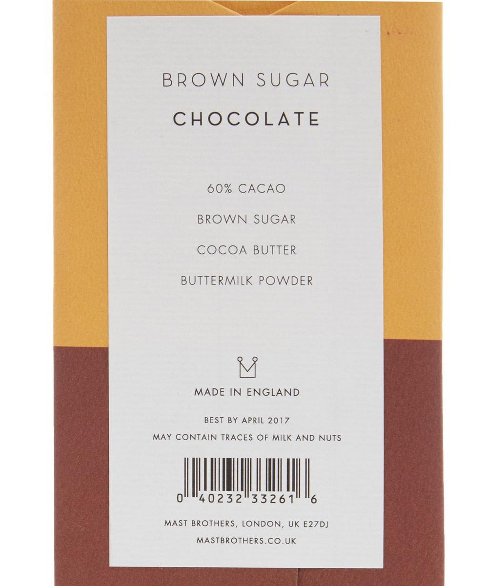 Brown Sugar Chocolate Bar 70g