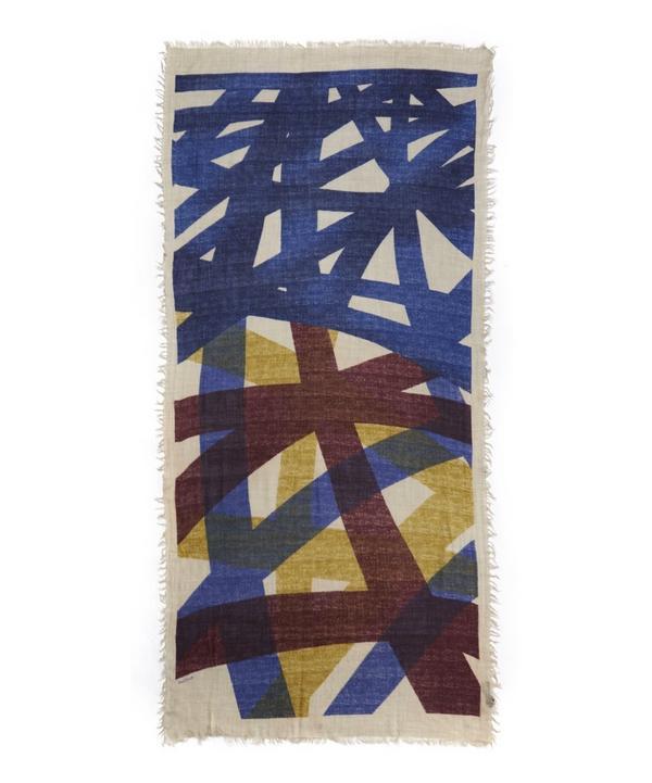 Dami Printed Wool Scarf