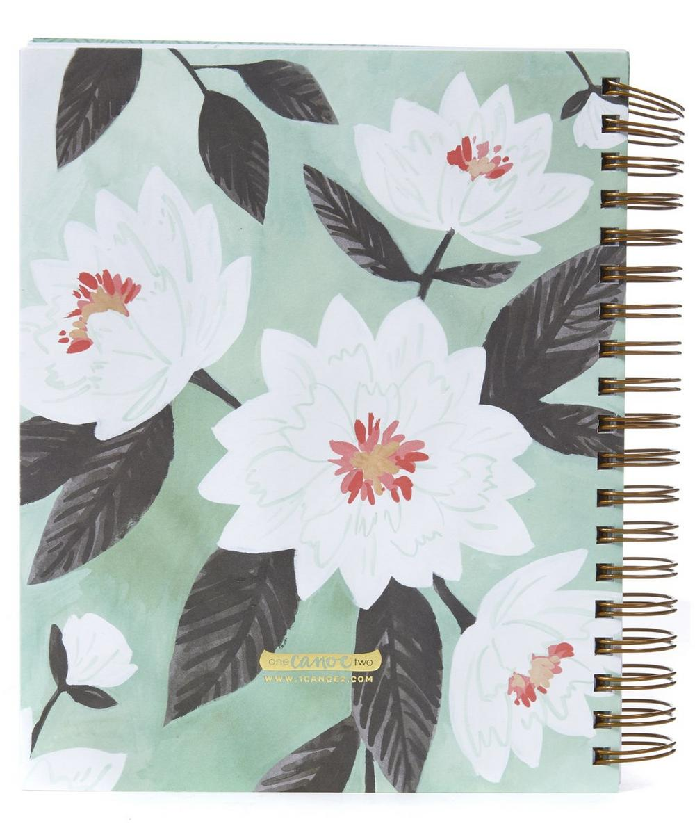 Floral Printed 17 Month Planner