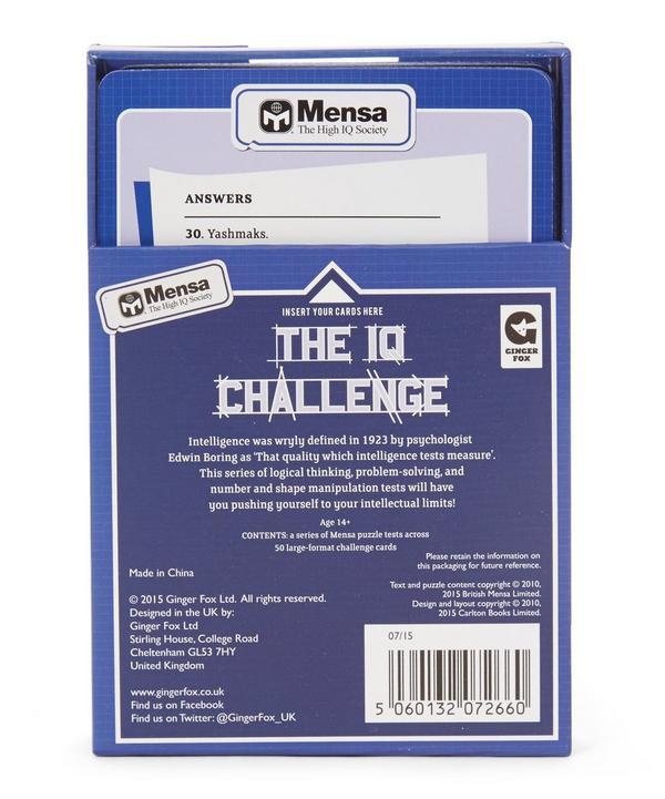 Mensa The IQ Challenge