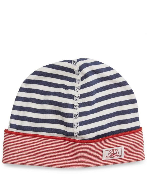 Petit Bateau Striped Hat