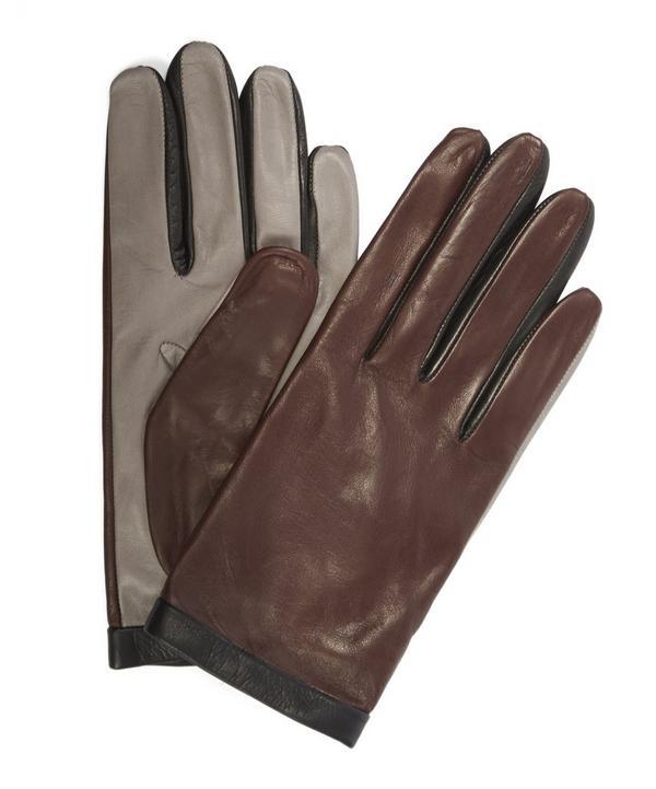 Nappa Contrast Cuff Gloves