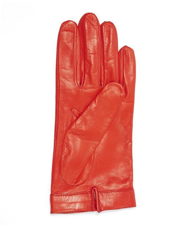 Nappa Metal Snaffle Detail Gloves