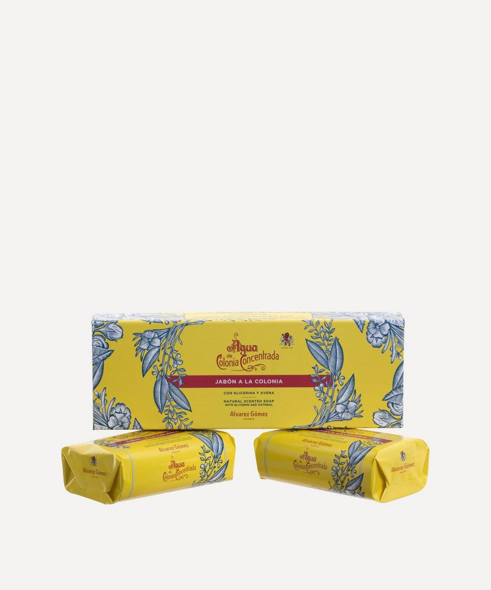 Agua de Colonia Concentrada Soap Set