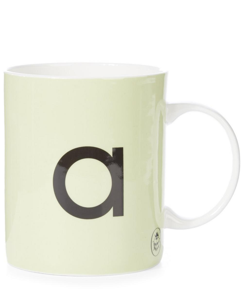 Ladybird Bone China A For Apple Mug