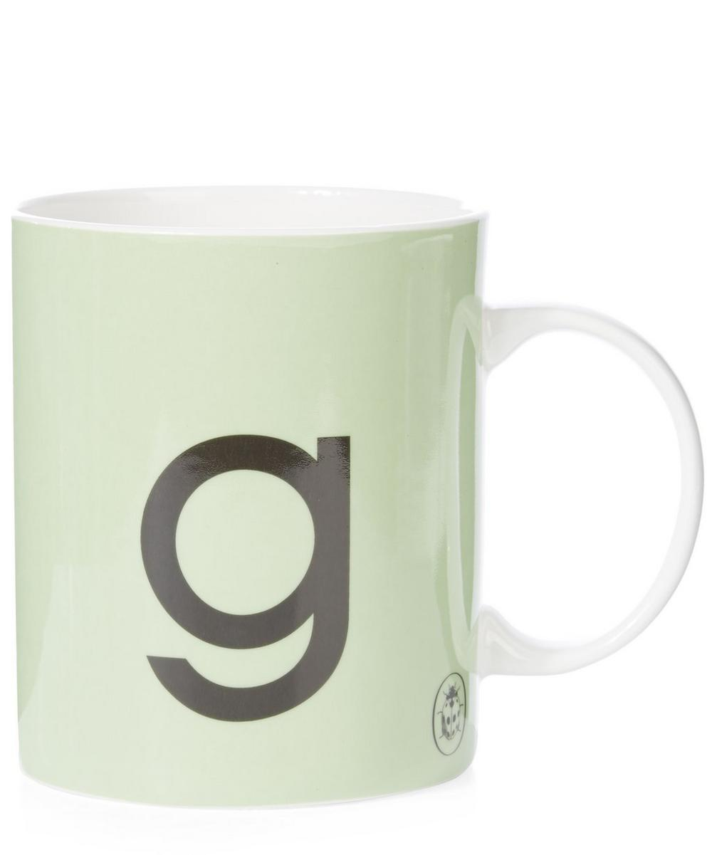 Ladybird Bone China G for Gate Mug