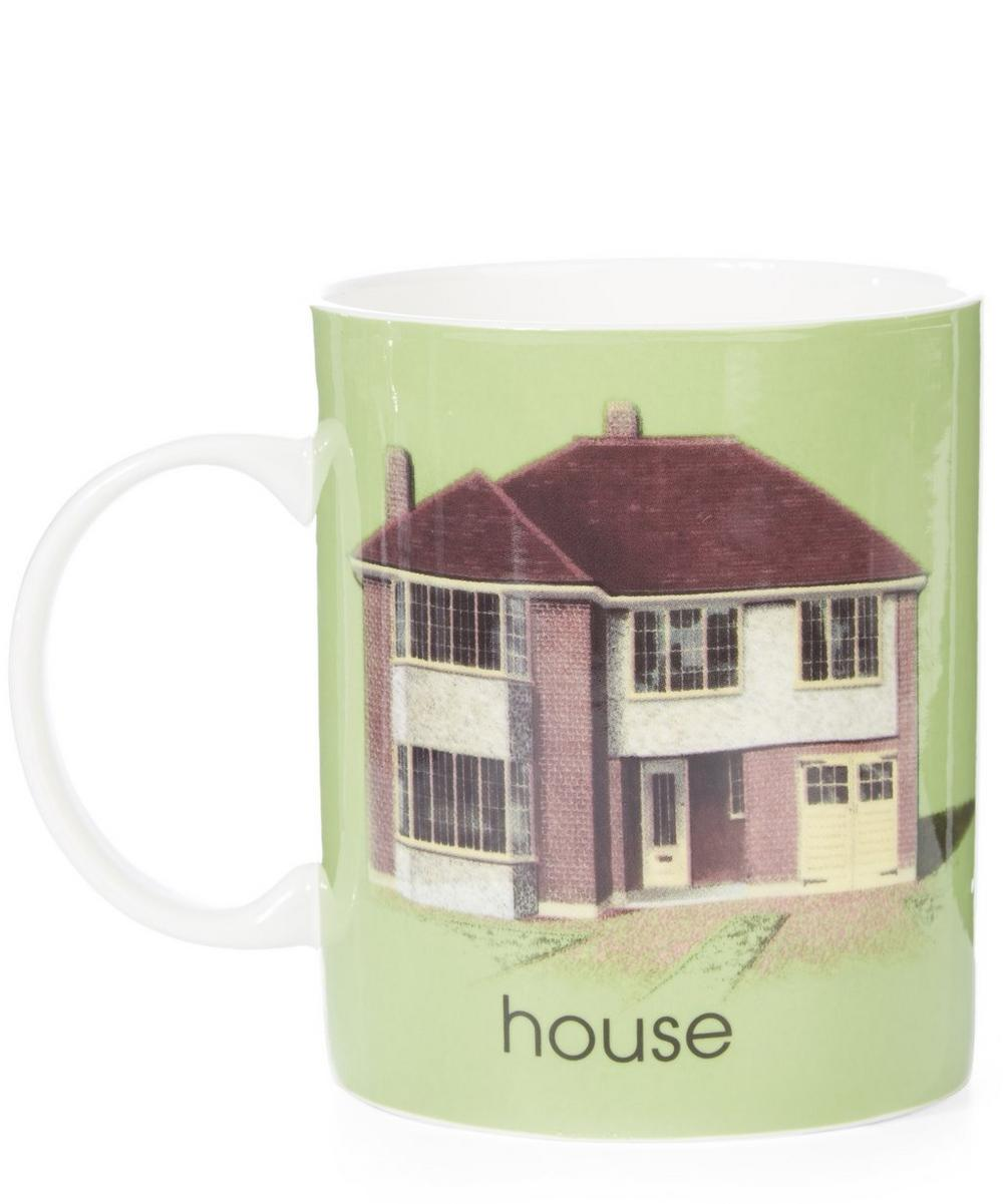Ladybird Bone China H for House Mug