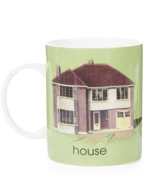 Ladybird Bone China H for House Mug