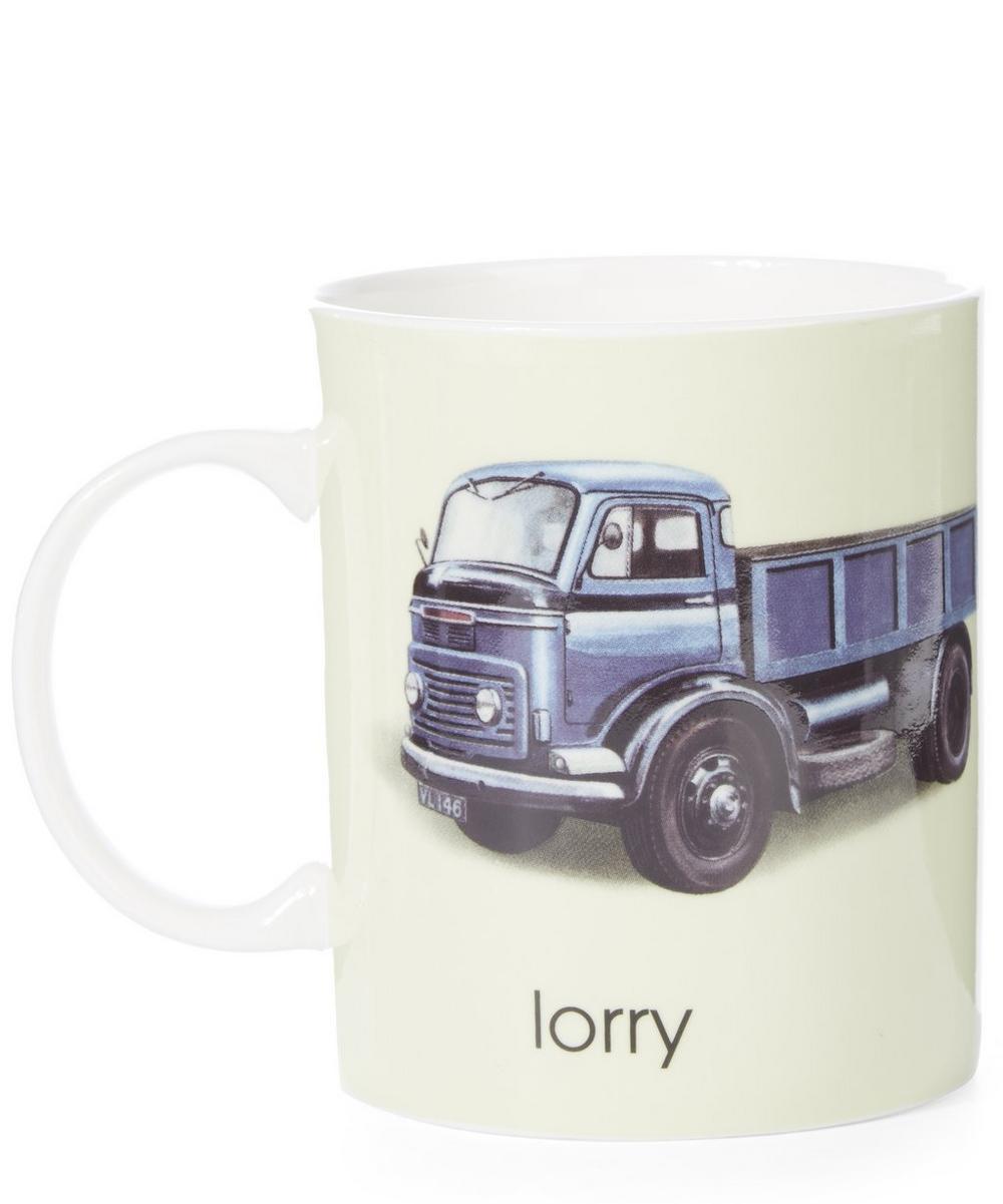 Ladybird Bone China L for Lorry Mug