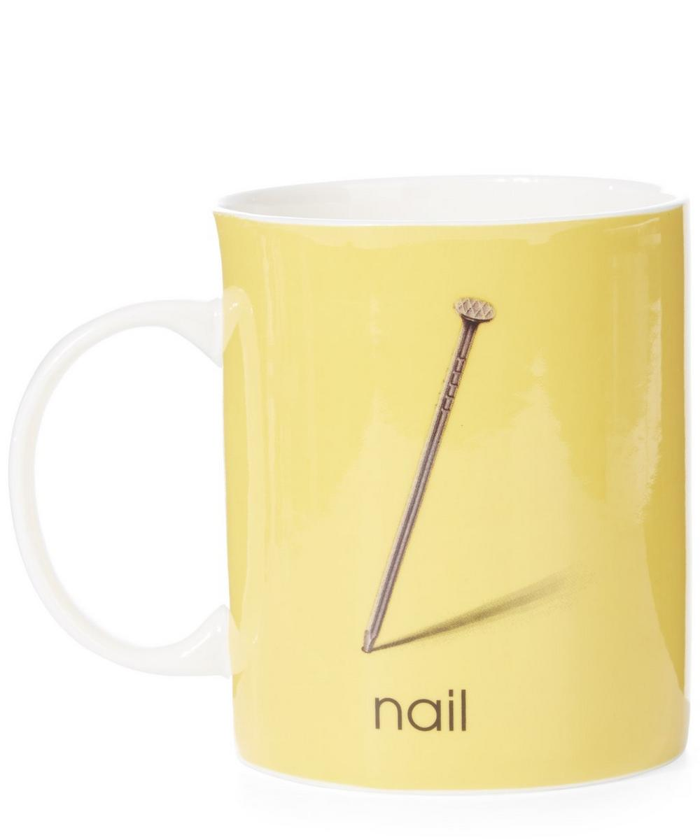 Ladybird Bone China N for Nail Mug