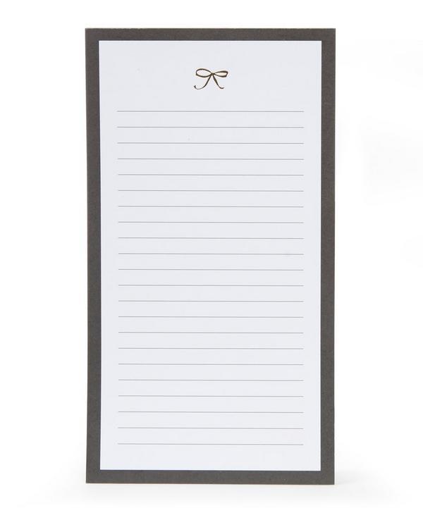 Bow List Notepa