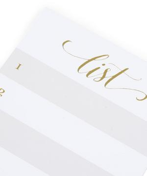 Paper List Pad