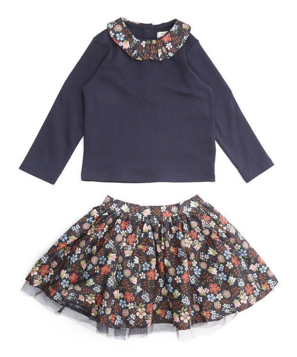 Edenham Two Piece Skirt and T-Shirt Set