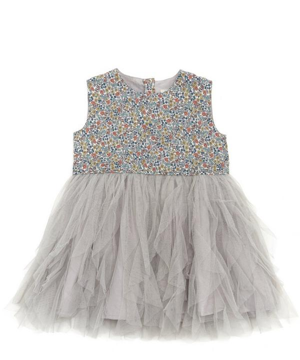 Emilia's Flowers Waterfall Tulle Dress