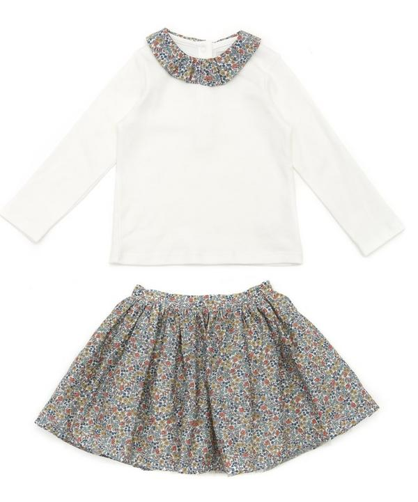 Emilias Flowers T-Shirt and Tutu Set