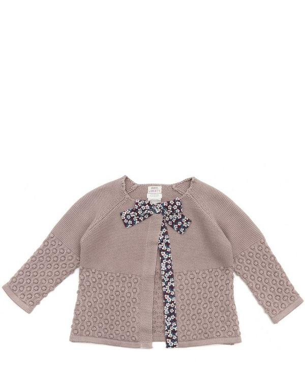 Ffion Bow Cardigan