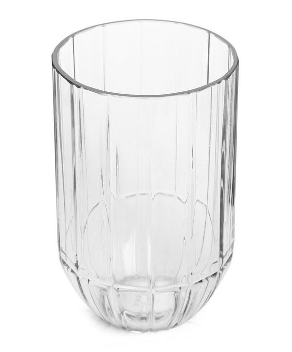 Medium Clear Colour Vase