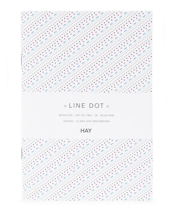 Set of Two Medium Line Dot Booklets
