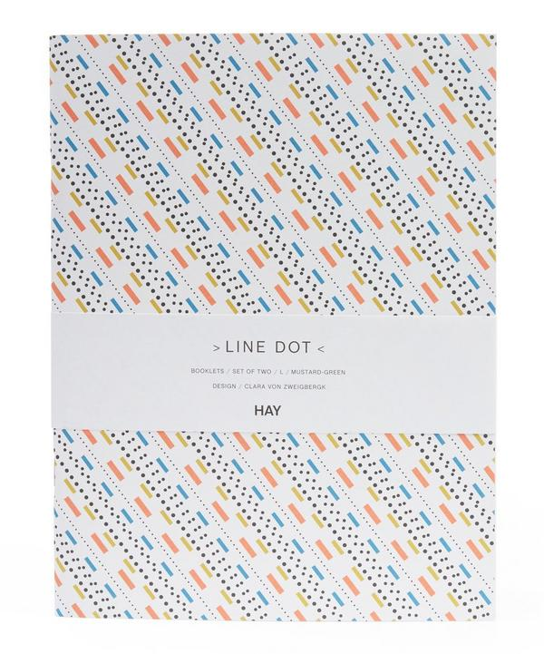 Line Dot L Two booklets