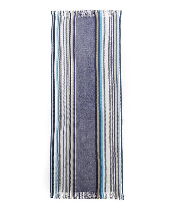 Classic Knitted Stripe Scarf