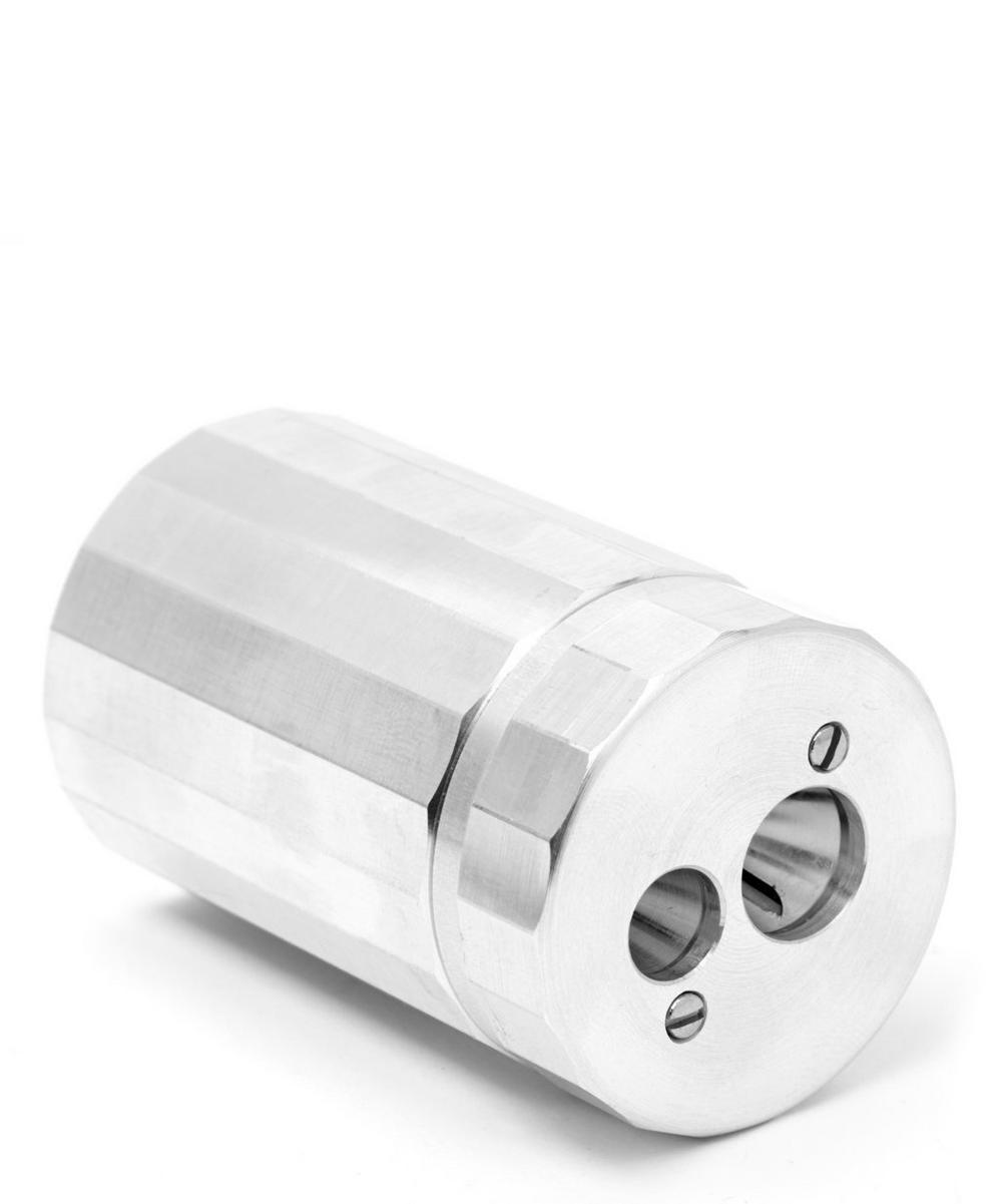 Solid Aluminium Double Pencil Sharpener