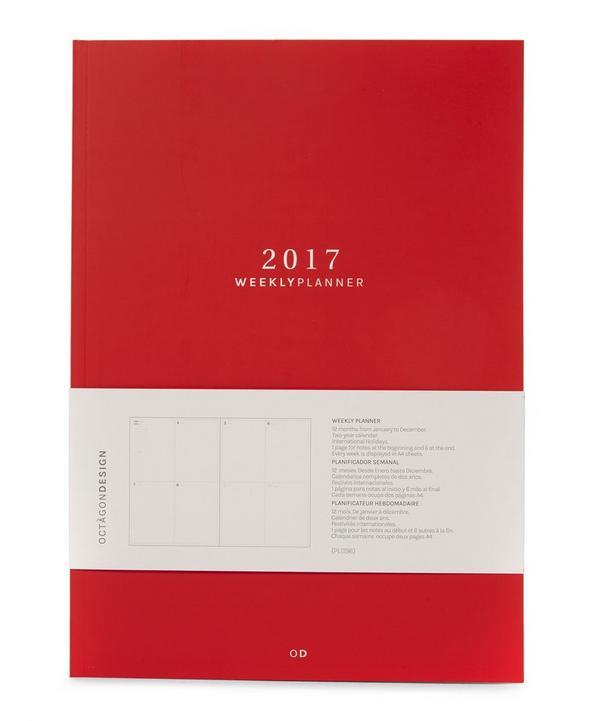 Big 2017 Weekly Planner