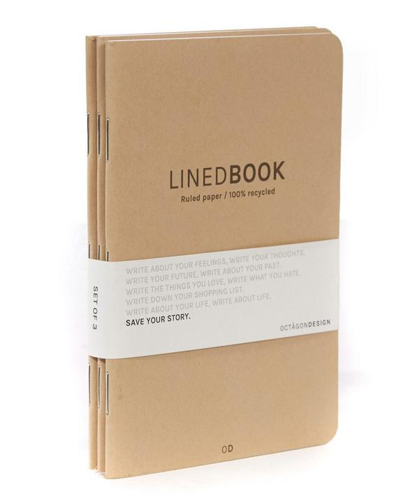 Design Lined Book Set