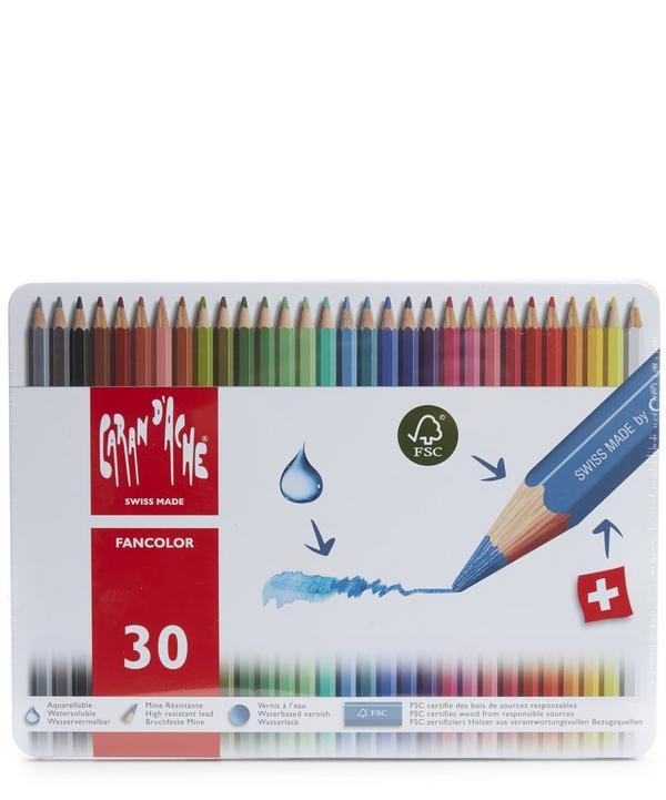 Large Coloured Pencil Tin
