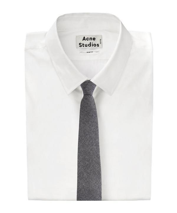 Plain Cashmere Tie