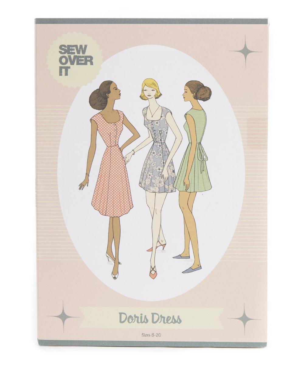 DORIS DRESS SEWING PATTERN