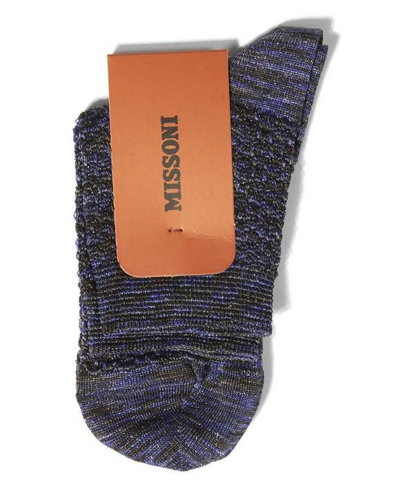 Glitter Lurex Socks