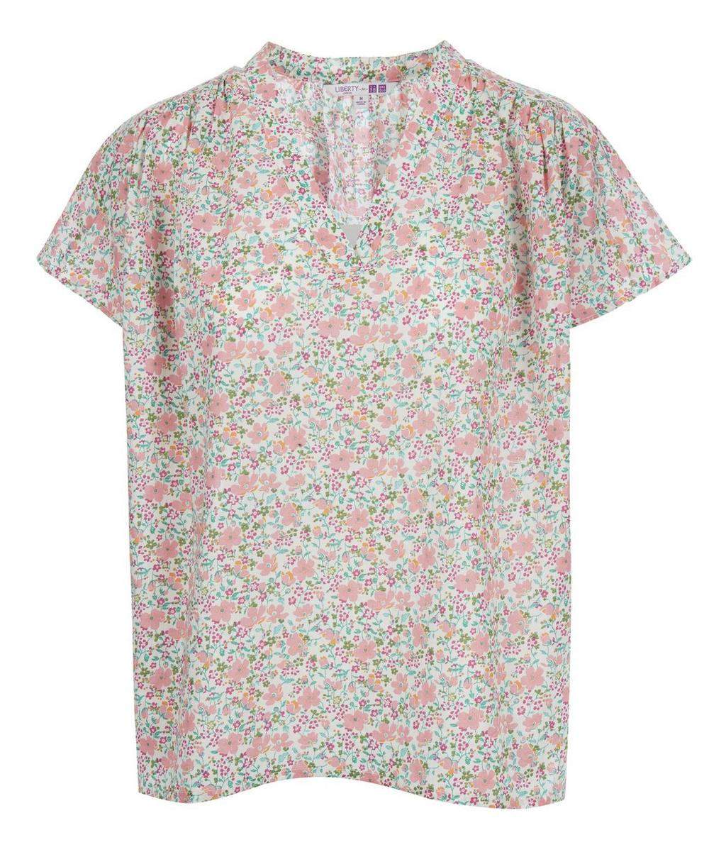 Liberty Print Cotton Blouse