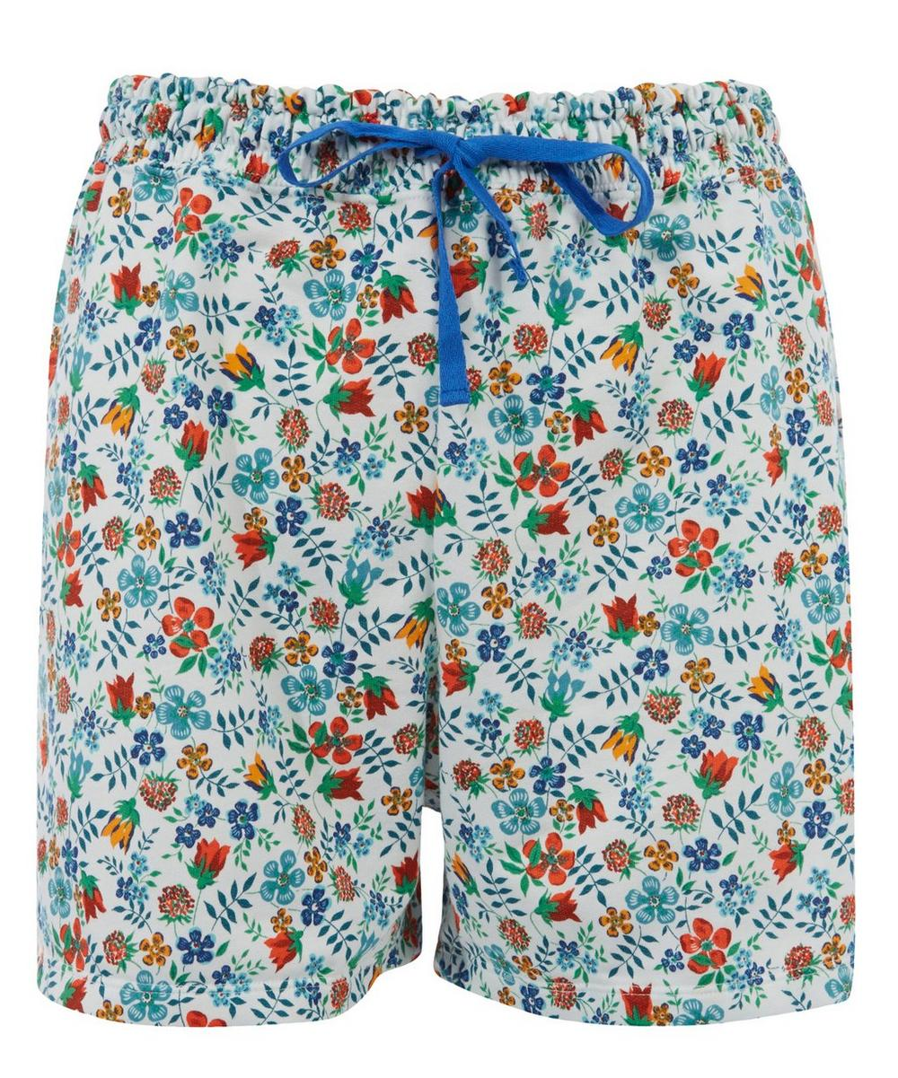 Liberty Print Drawstring Shorts
