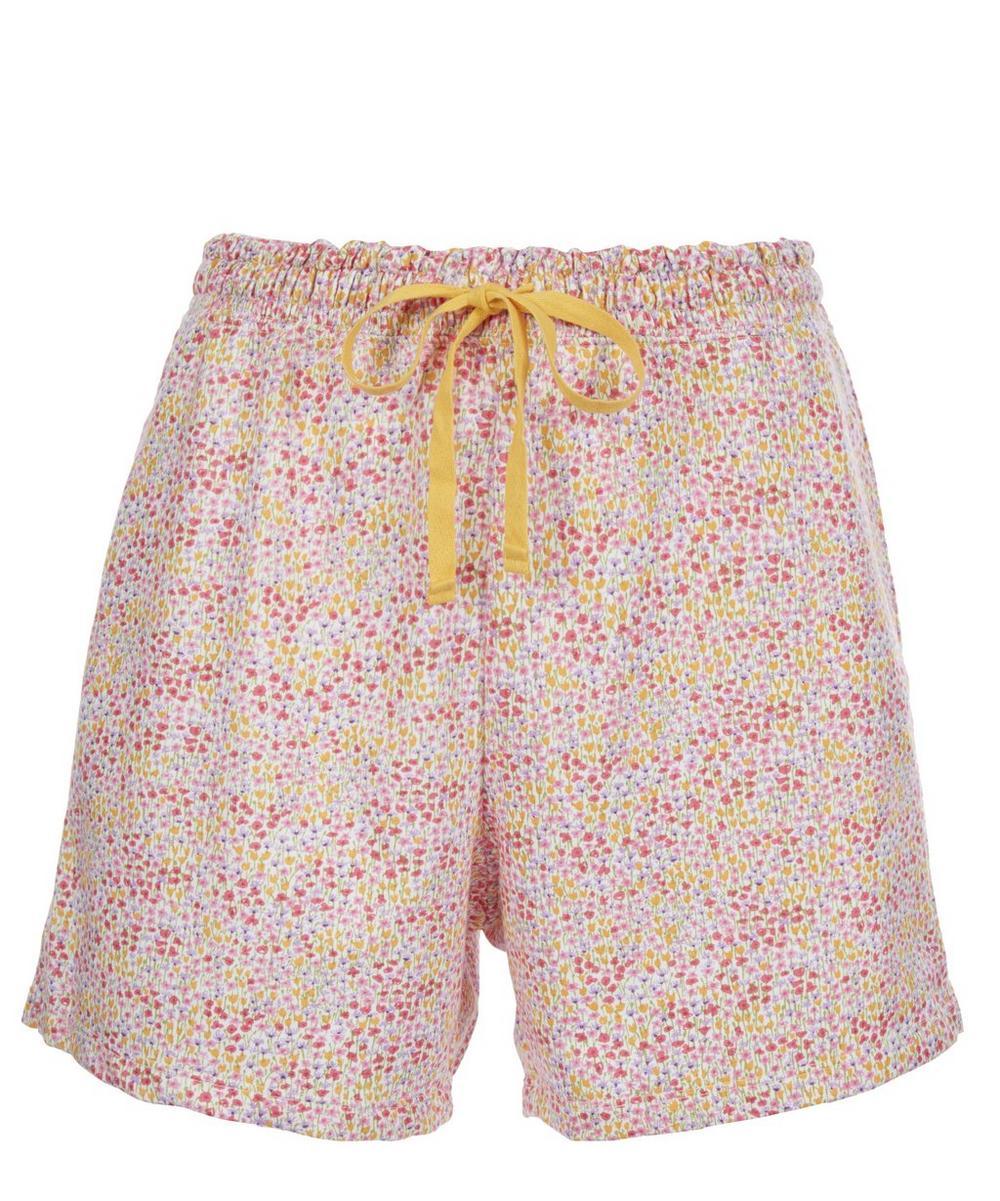 Liberty Print Drawstring Shorts