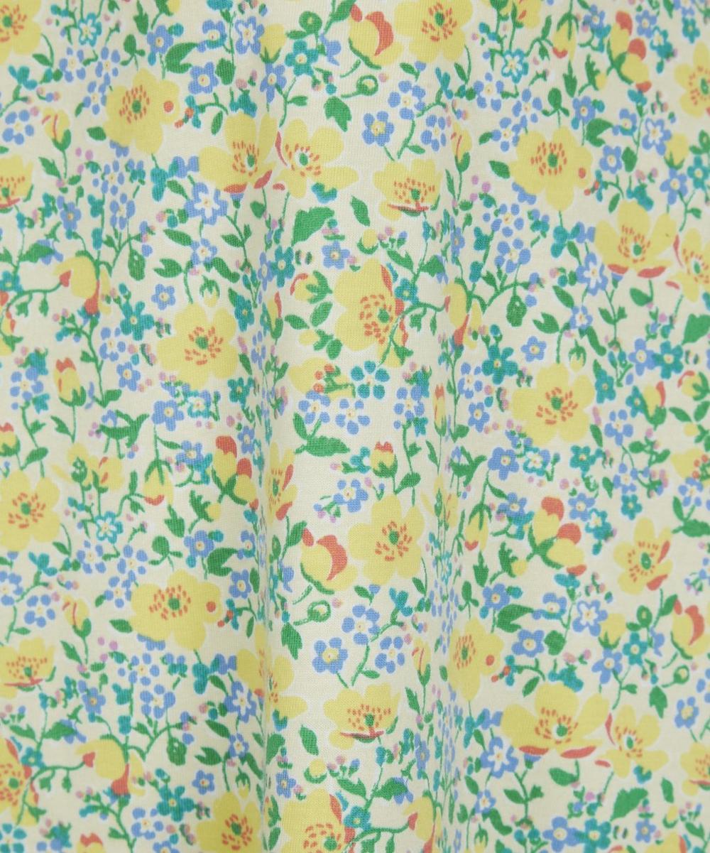 Liberty Print Flared Sleeveless Dress