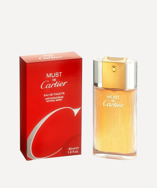 Must de Cartier Eau de Toilette 50ml