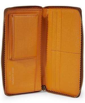 Large Pebbled Leather Travel Wallet
