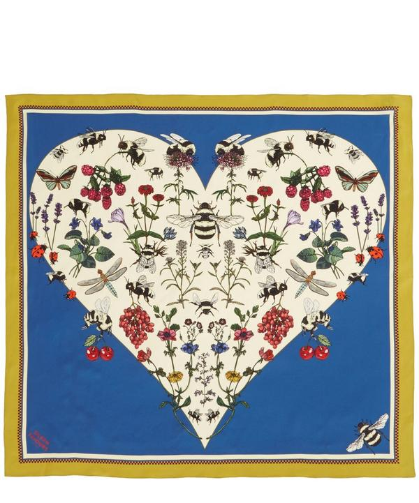 Bumblebee Love Silk Scarf