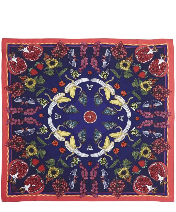 Summer Printed Silk Scarf