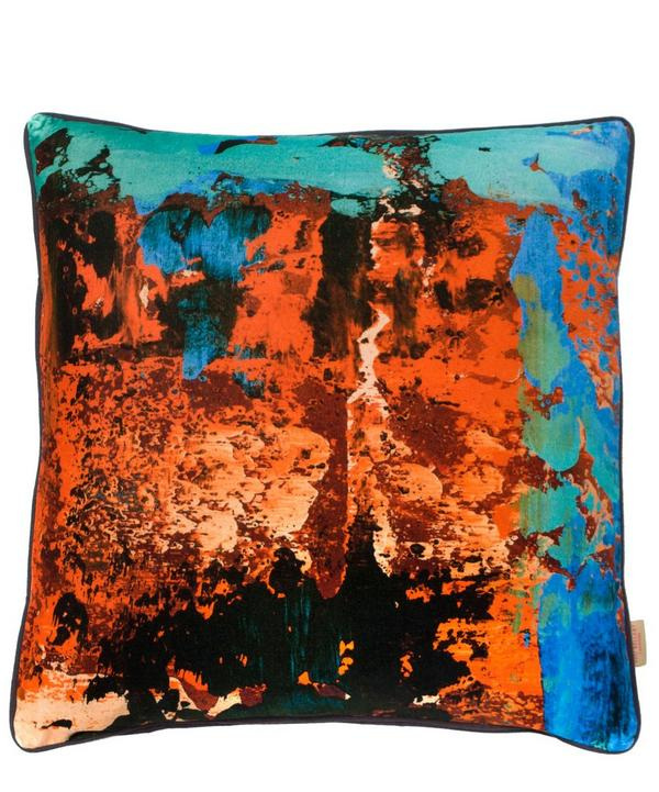 Geode Turchese Cushion