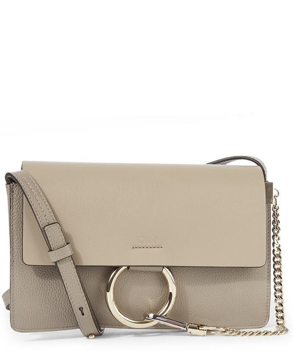 Faye Small Grained Calfskin Shoulder Bag