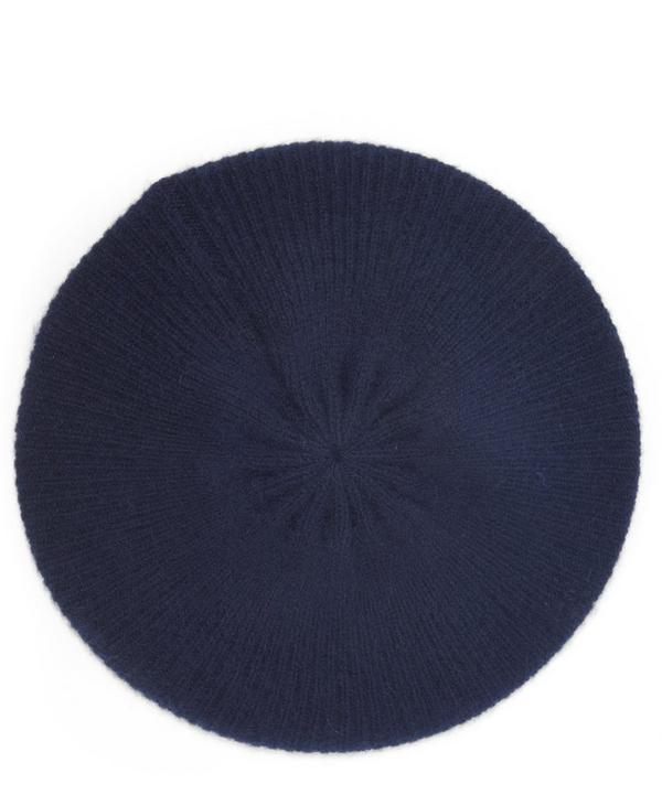Milled Cashmere Knitted Beret