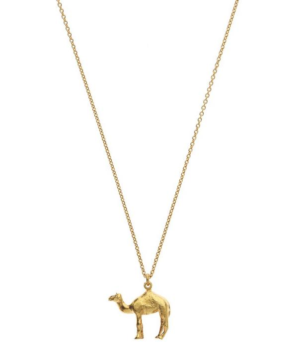 Gold-Plated Egyptian Camel Necklace