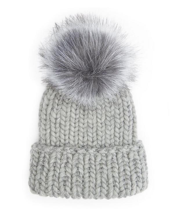 Rain Pom Pom Beanie Hat