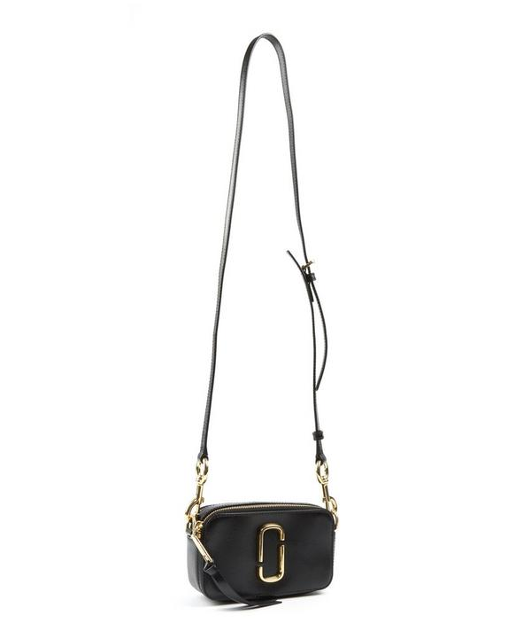 Small Leather Snapshot Bag