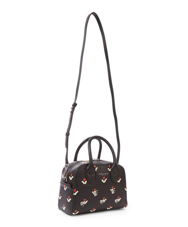 Embellished Tulip Detailed Small Bauletto Bag
