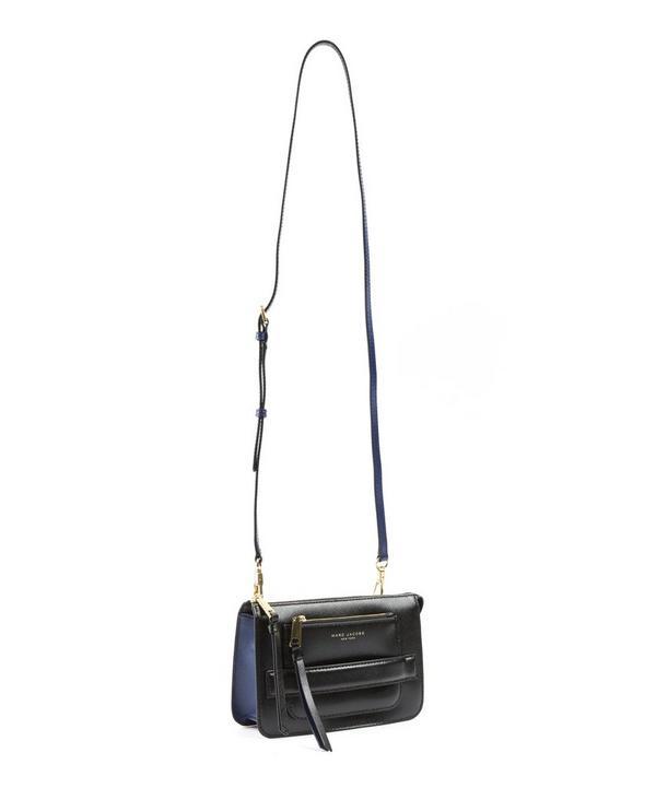Saffiano Leather Madison Crossbody Bag