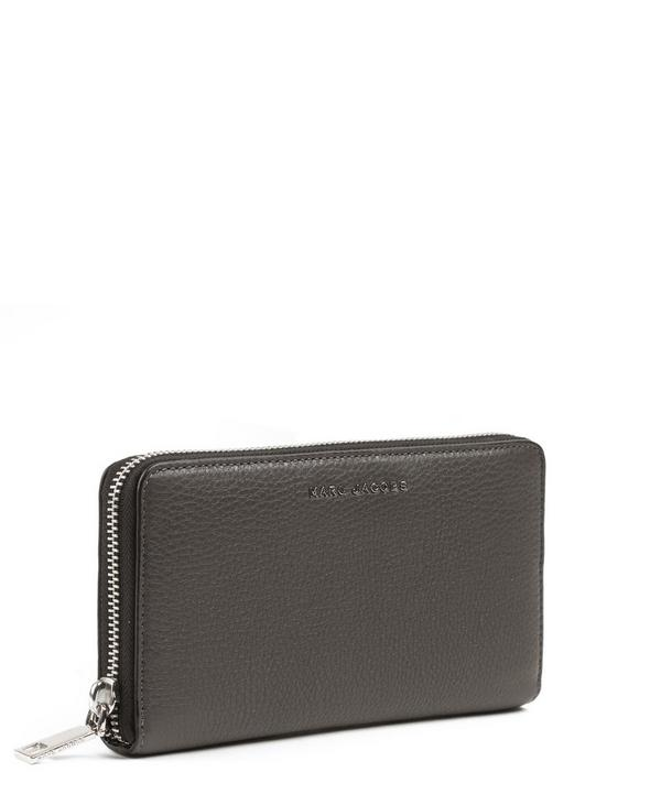 Leather Wingman Continental Wallet